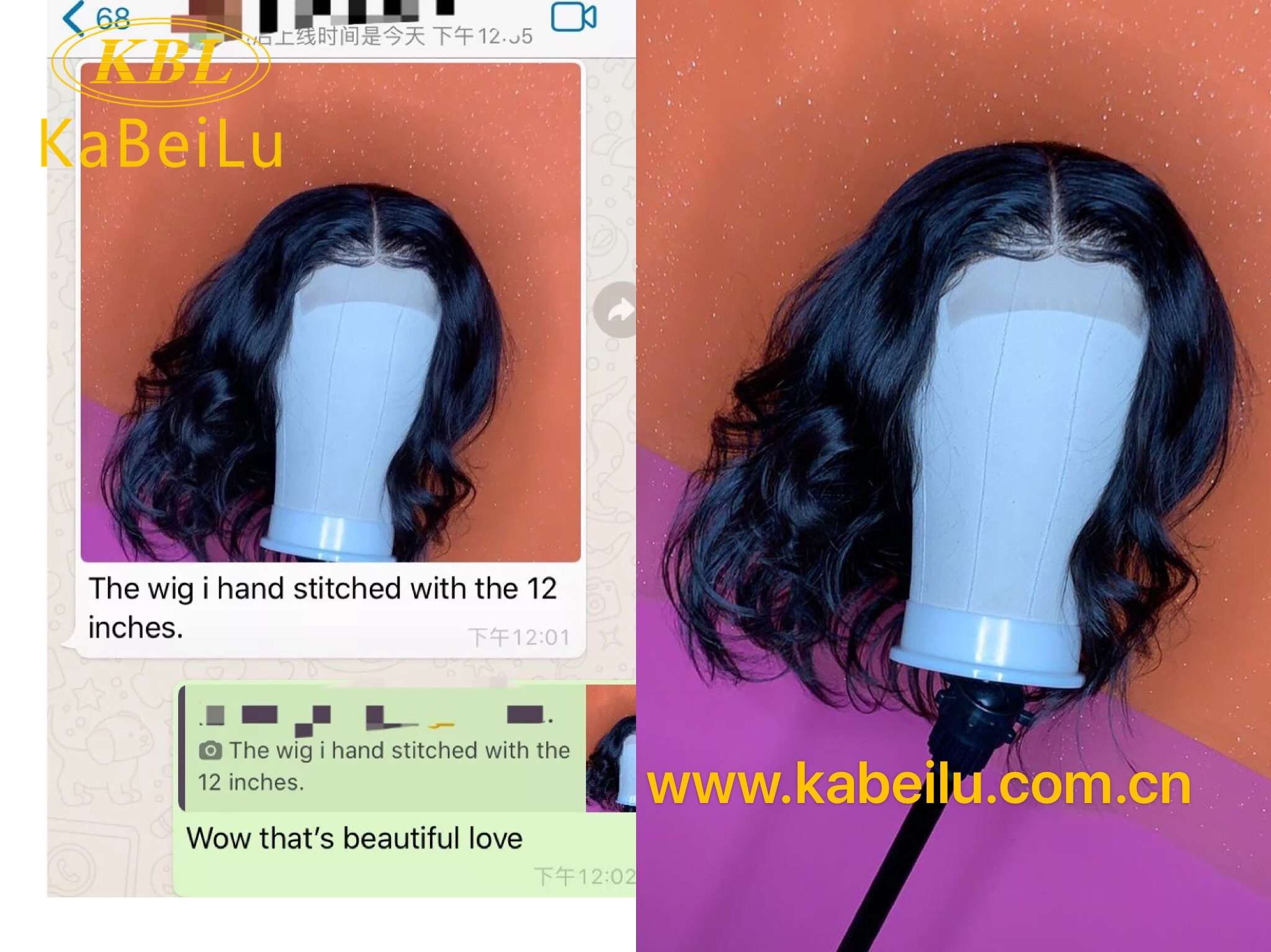 KBL 100% virgin brazilian hair bundles with cuticle aligned hair body wave