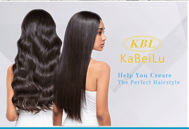 KBL hair vendors brazilian human hair extension cuticle aligned virgin hair deep wave hair bundles