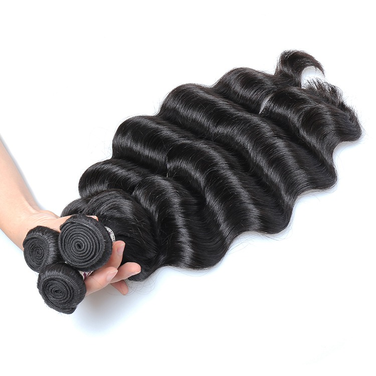 T1 Brazilian virgin hair bundles with cuticle aligned hair 12-26 inches loose wave bundles