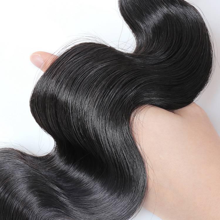 KBL peruvian virgin remy body wave hair bundles for wholesale