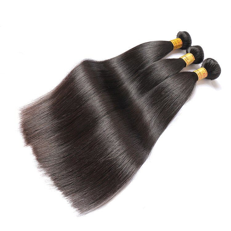 KBL peruvian human hair extenion straight hair weave 12-26 inches