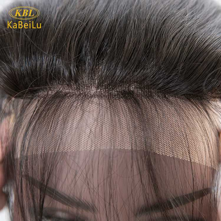 Wholesalle 5*5 transparent lace closure with pre-plucked natural hair line