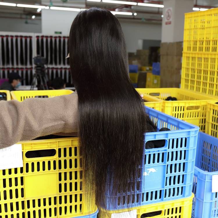 Transparent lace 13x6 front lace wigs 180% density natural hair line with baby hair